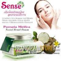 Sense Pueraria Mirifica Herbal Facial Scrub Cream-Крем-скраб с экстрактом Пуэрарии Мирифики.