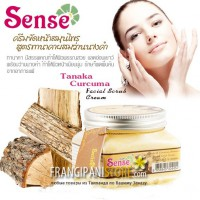 Sense Tanaka and Curcuma Aromatica Herbal Scrub Cream Крем-скраб Танака и Куркума.