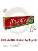 KOKLIANG toothpaste with extracts snow lotus,ginseng,jasmine tea,clove & chinese peral